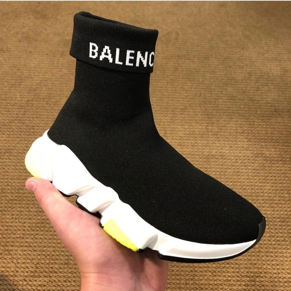 New Balenciaga Hi Speed Logo Sock